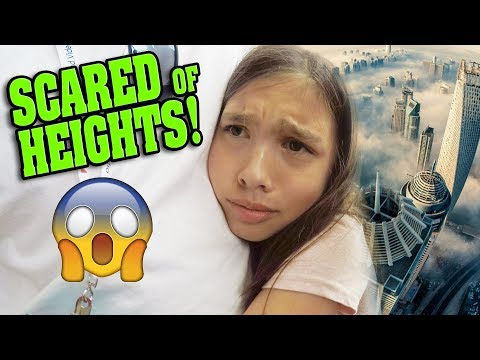 SCARED OF HEIGHTS!!! 8000 ft UP!  Father Daughter Road Trip Going Home Clamour 2018 - DAY 4