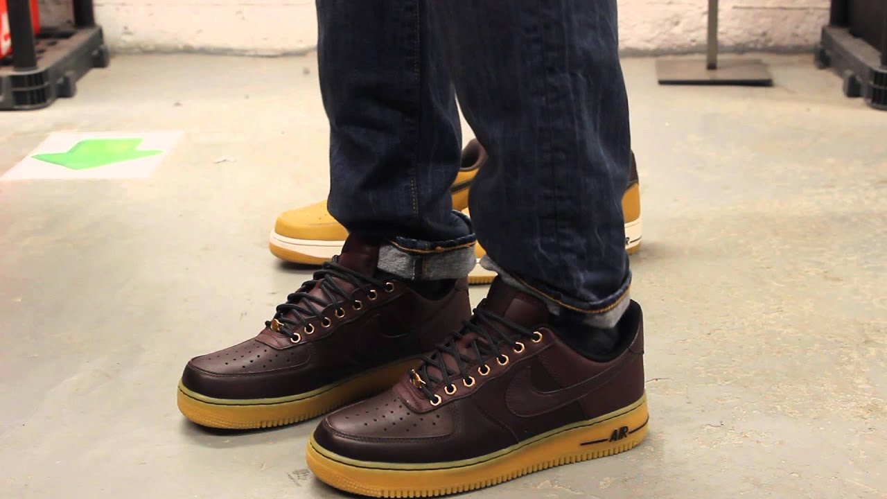Nike Air Force 1 07 Deep Burgundy White Gum