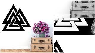 Vinyles décoratifs Géométriques