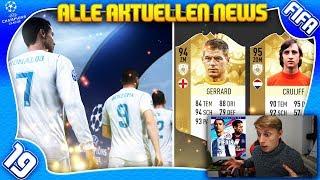 FIFA 19: Alle aktuellen NEWS + Neuigkeiten! ft. COVER STAR NEYMAR + Champions League + Neue Icons