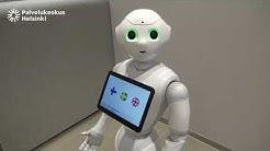 Esittelyssä Kalasataman uusi työntekijä Pepper-robotti