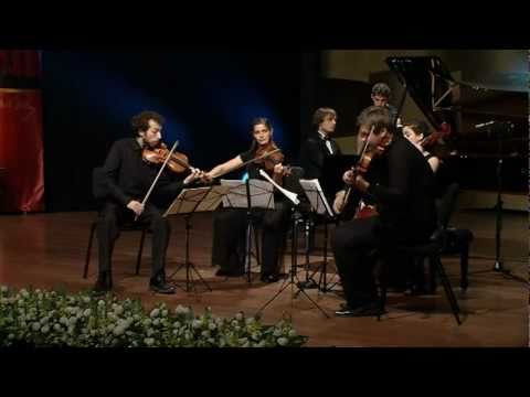 Brahms - Piano Quintet in F minor, op. 34 - Rashkovskiy Ilya and the Ariel String Quartet