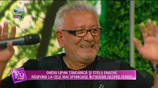 Teo Show (17.10.) - Ovidiu Lipan Tandarica si Stelu Enache raspund la intrebari spumoase! Partea III