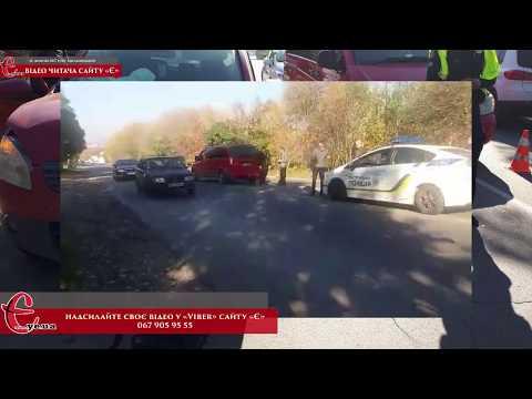 gazeta ye.ua: ДТП на Західно-Окружній / 18.10.2017 / Хмельницький