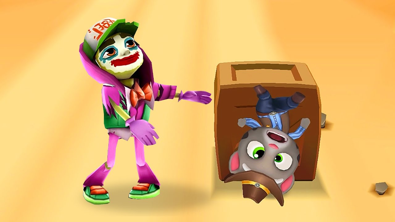 WINS FAILS CHALLENGE! WHO IS THE BEST? MY TALKING TOM vs JAKE - SUBWAY SURFERS?