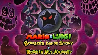 Todos los de la Estrella Oscura Momentos [DX] - Mario & Luigi: Bowser Dentro de la Historia + Bowser Jr Viaje