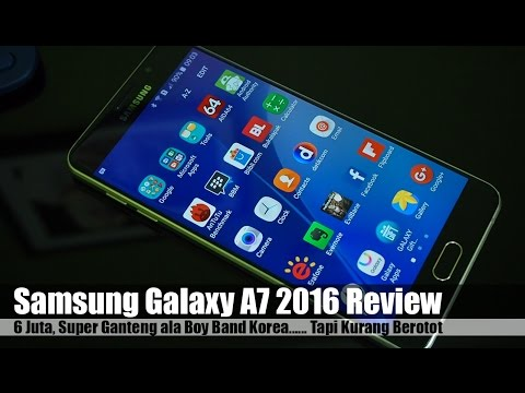 Samsung Galaxy A7 2016 Review Indonesia