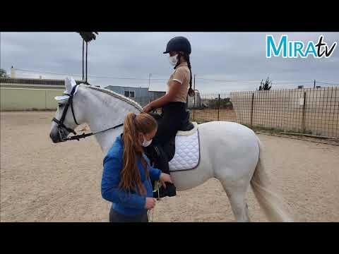 Así enseñan a montar a caballo en el Centro Hípico La Rumbosa de Jerez