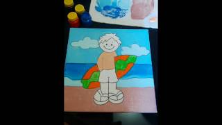 Aula de Pintura para crianças - Parte II