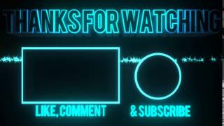 Outro   Thanks for Watching like comment subscribe