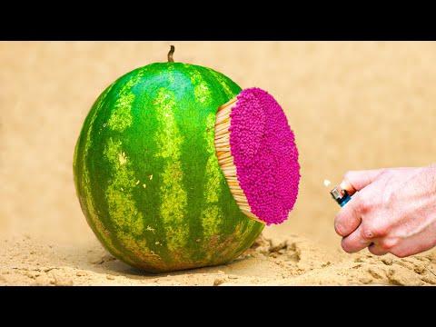 Experiment :Watermelon vs Matches