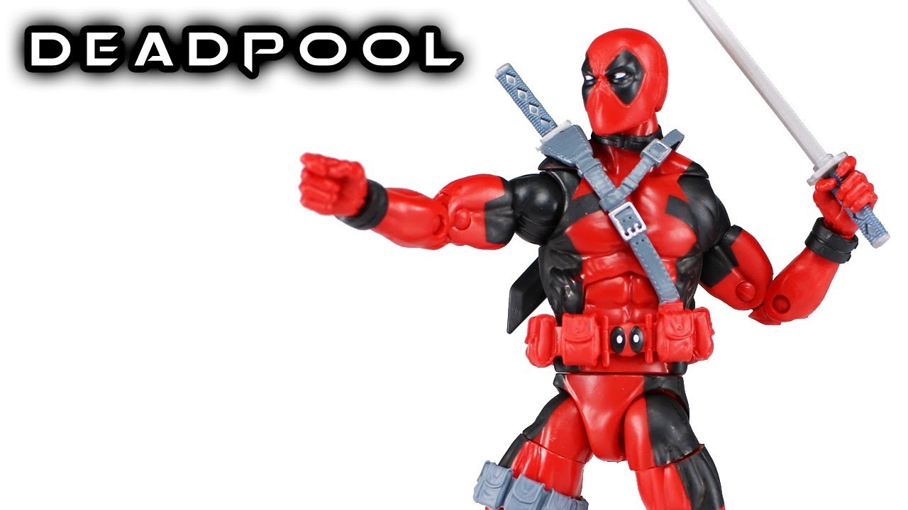 DEADPOOL from SASQUATCH SERIES MARVEL LEGENDS DEADPOOL II