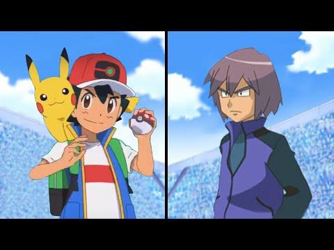 Pokemon Characters Battle: Ash Vs Paul (Ash Ketchum Best Team) |