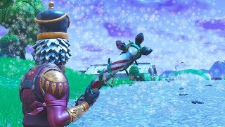 FINALLY.. SNOWING in Fortnite Battle Royale!