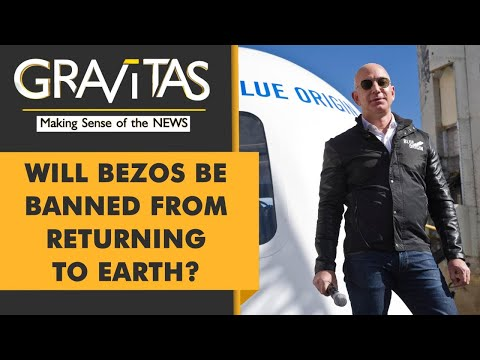 Gravitas: Jeff Bezos is going to Space