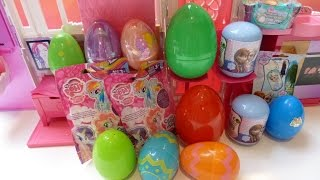 Trứng Phục Sinh Với Đồ Chơi Peppa Pig Bất Ngờ ,Shopkin Basket, Frozen, Doc Mcstuffins Blind Bags
