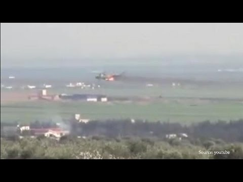 Azerbaycan Ermenistan'a ait savaş helikopterini vurdu