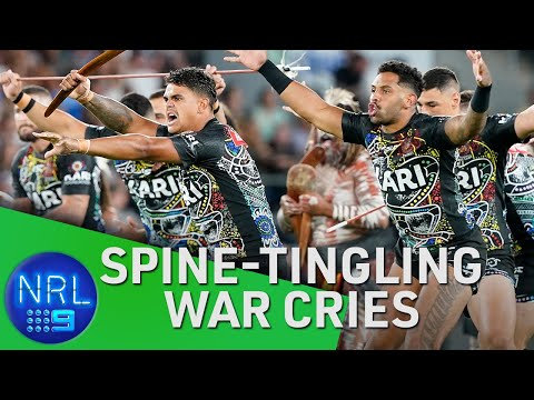 The best war cries you'll see | NRL on Nine