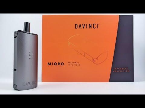 Review of the Davinci MIQRO Dry Herb Vape – DaVinciVaporizer.com