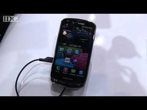 CES 2011: Samsung shows 4G LTE smartphone