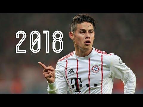 ハメス・ロドリゲス 2018 バイエルン・ミュンヘン プレー集 パス ゴール アシスト James Rodriguez 2018