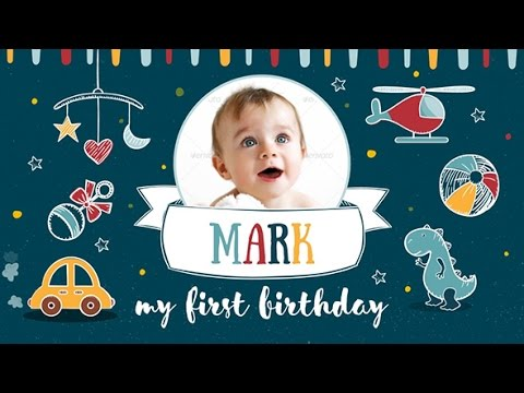my-first-birthday-|-after-effects-template