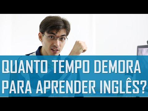 Quanto tempo demora para aprender inglês? | Mairo Vergara