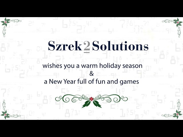 Szrek2Solutions holiday card December 2018