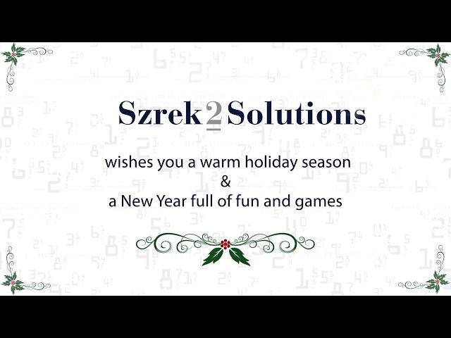 Szrek2Solutions holiday card December 2018