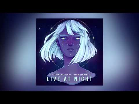 Different Heaven - Live At Night feat. Sophie Simmons (Cover Art) [Ultra Music]