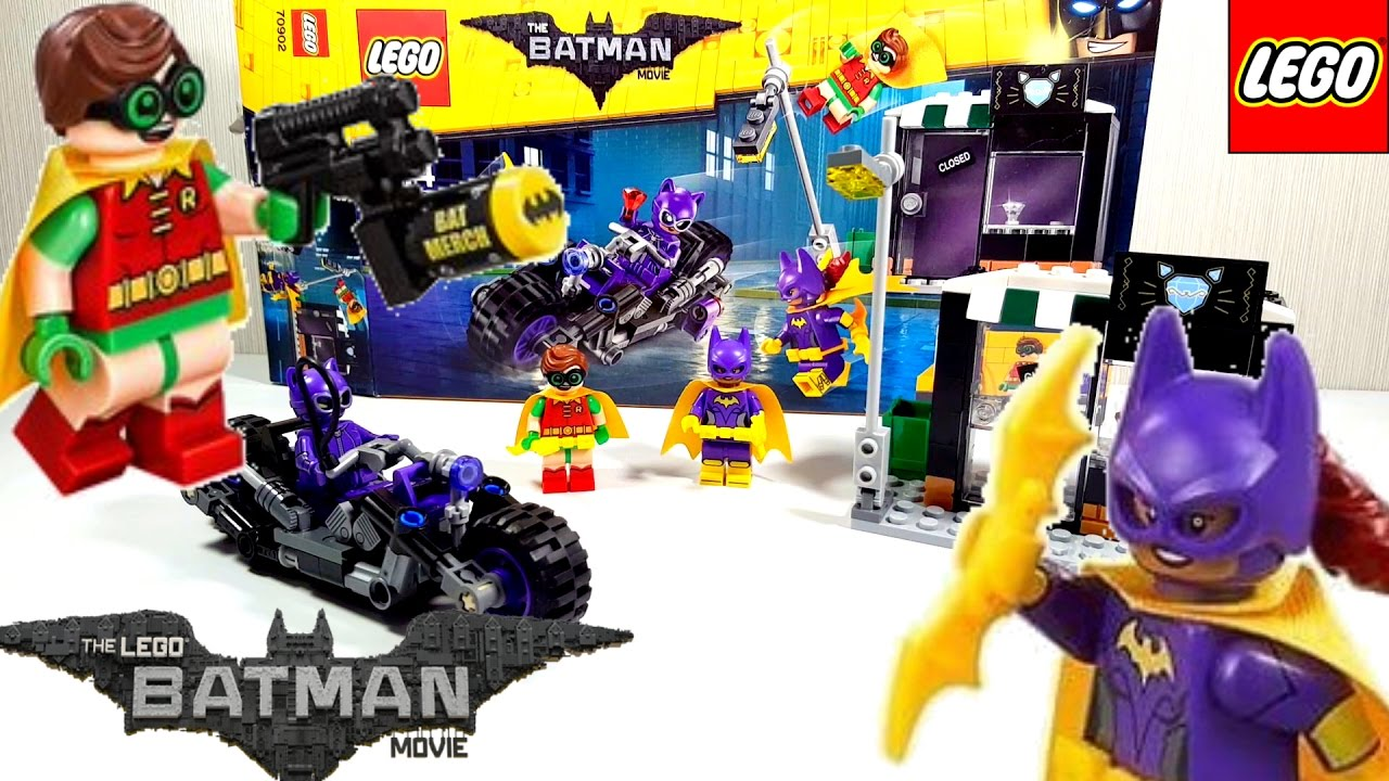 Lego Batman Movie Catwoman Catcycle Chase 2017 Building ...