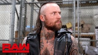 Aleister Black is not the status quo: Raw Exclusive, Feb. 18, 2019