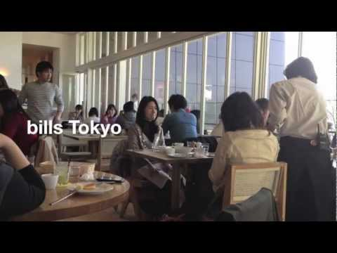One day in Tokyo's Best breakfast @ bills