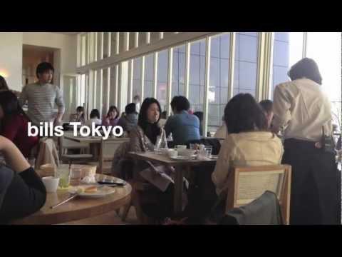 One day in Tokyo's Best breakfast @ bills