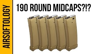 Modify 190 Round MidCap Magazine   Airsoftology Review