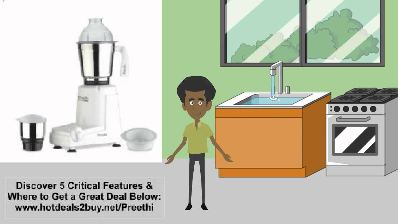 12274959889 Preethi Eco Twin Mixer Grinder Review   DISCOUNT - YouTube