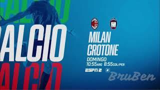 Promo ESPN   Milan vs Crotone - Serie A 2021