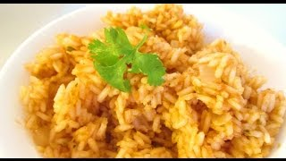 Spanish Rice -  Mexican Food Restaurant Secrets for Home Cooking - PoorMansGourmet