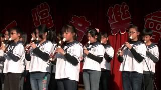 多拉a夢  2012-12-22   和美國小  直笛隊演出  叮叮噹表演會