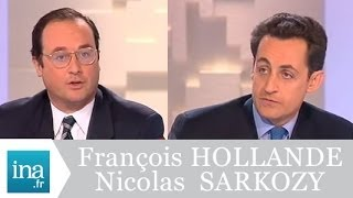Video Débat Francois Hollande et Nicolas Sarkozy (Mots croisés 1998) - Archive vidéo INA download MP3, 3GP, MP4, WEBM, AVI, FLV Juli 2018