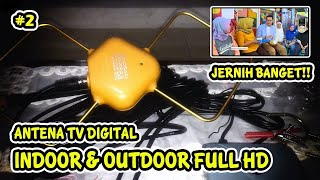 Antena TV Digital Toyosaki AIO 200 Super Jernih [UNBOXING & REVIEW]