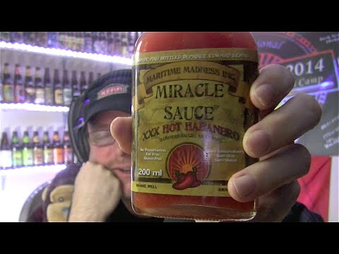 Maritime Madness Miracle Sauce hot Habanero review!