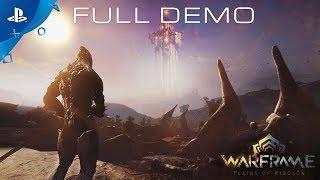 Warframe - Plains of Eidolon Gameplay Demo | PS4