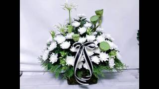Memorial Flower Basket 49제 추모 …