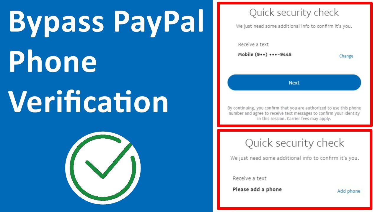 Download How to Bypass PayPal Phone Verification 2020
