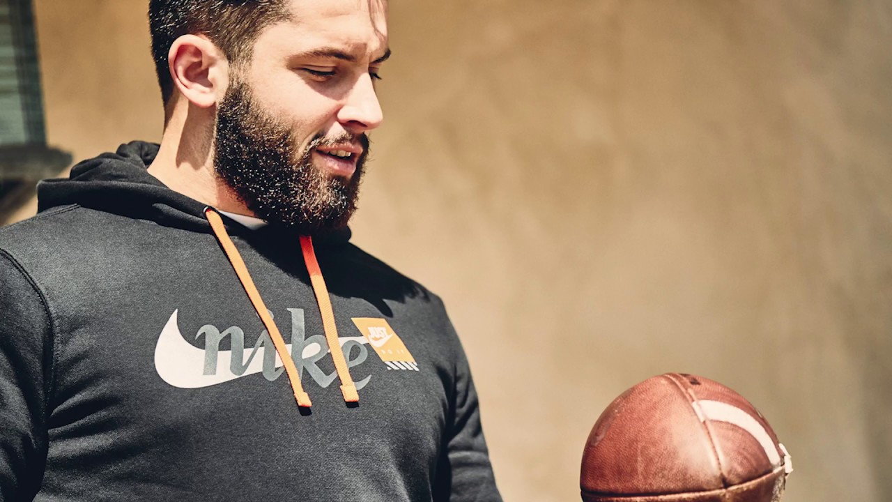 half off 9f2c8 32eae Baker Mayfield's New Favorite Air Max | Refresh Your Game | Champs Sports X  Nike