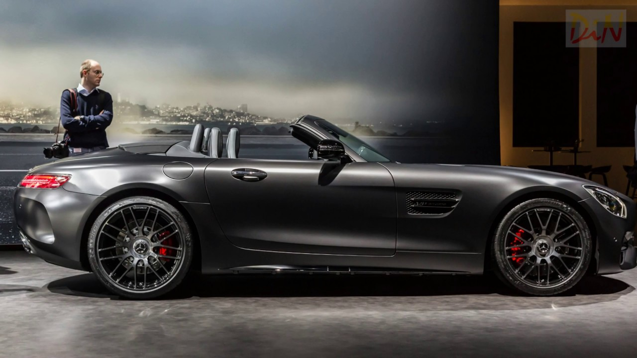 mercedes amg gt c roadster edition 50 2017 geneva cover. Black Bedroom Furniture Sets. Home Design Ideas