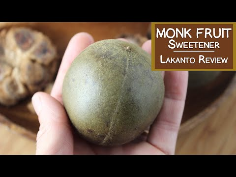 Monk Fruit Sweetener and Lakanto Review
