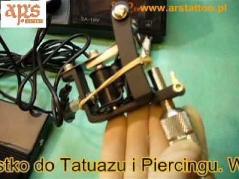 Unikalne Maszynka do Tatuażu - podłączenie maszynki do zasilacza - YouTube VU02