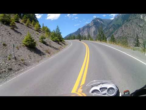 Riding 99 south to Pemberton and Whistler BC '16 Ducati Diavel and '10 BMW GS650f